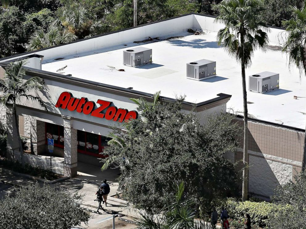 PHOTO: The AutoZone at 801 S. State Road 7 where Cesar Sayoc, a 56-year-old man from Aventura, Fla., was arrested in the possible connection with pipe bombs being mailed to critics of President Donald Trump on Oct. 26, 2018 in Plantation, Fla.