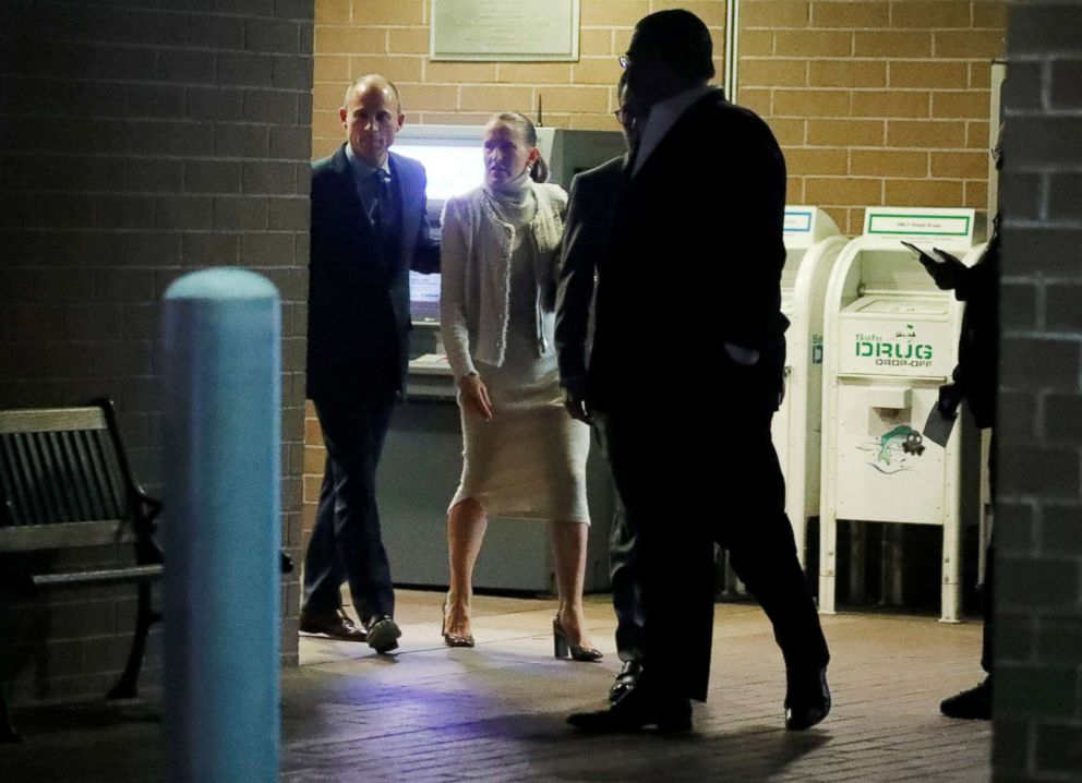 PHOTO: Michael Avenatti leaves Los Angeles Police Department Pacific Division after being arrested on suspicion of domestic violence, in Culver City, Calif., Nov. 14, 2018.