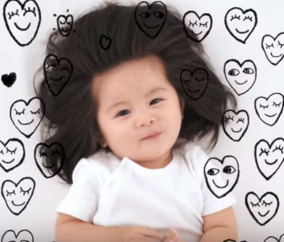 Baby Chanco was recently named the face of Pantene in Japan.