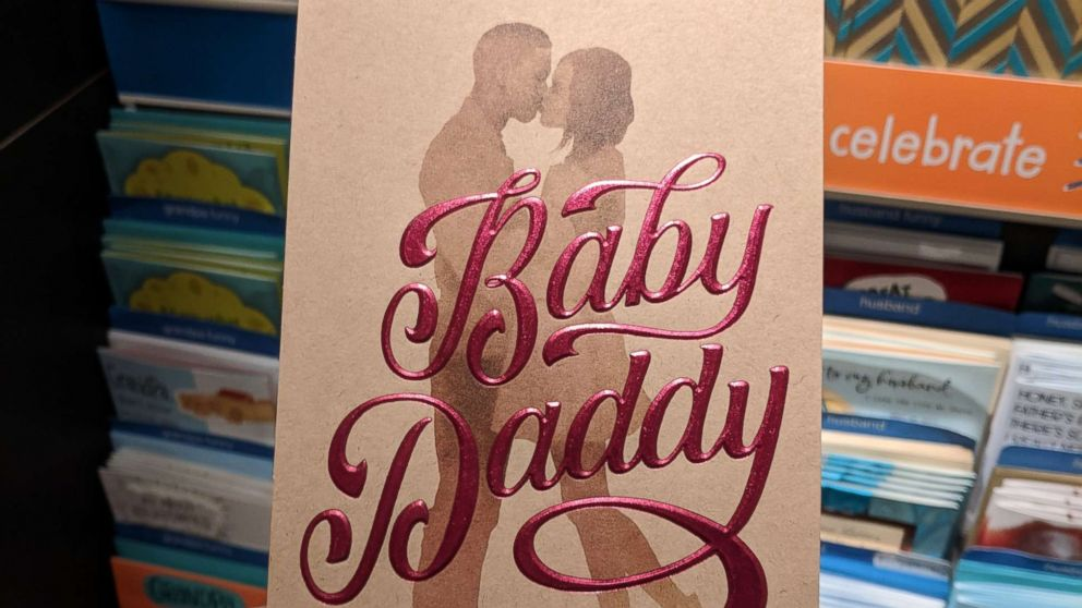 """Target stores have pulled a Father's Day card, depicting a black couple and the words """"Baby Daddy"""", from the shelves after getting complaints that it is racially insensitive."""