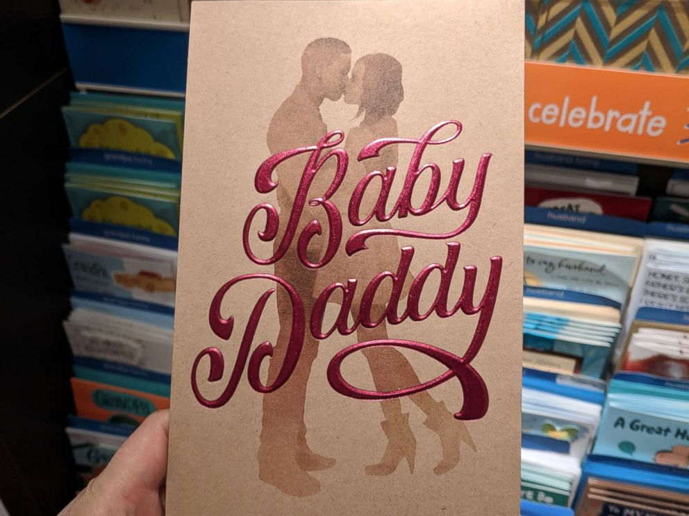 PHOTO: Target stores have pulled a Fathers Day card, depicting a black couple and the words Baby Daddy, from the shelves after getting complaints that it is racially insensitive.  Target yanks 'Baby Daddy' cards after complaints of racial insensitivity babydaddy card 01 ht rc 180614 hpMain 4x3 992