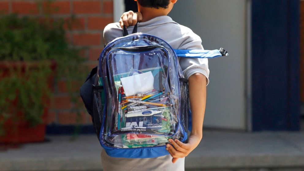 ae068d9ff4 Preschoolers among students required to carry clear backpacks in ...