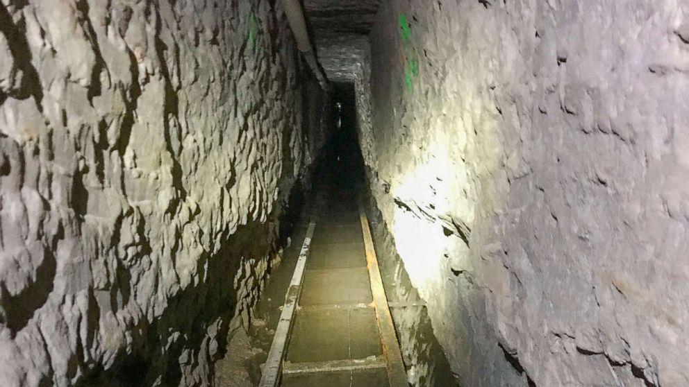 Rekord-lange Drogen-Schmuggel-tunnel gefunden, von Mexiko bis San Diego