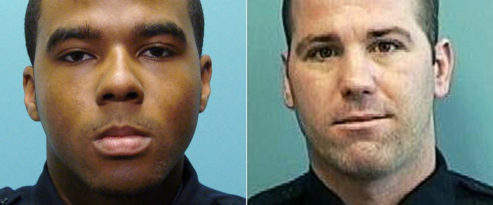 PHOTO: Baltimore police detectives Marcus Taylor and Daniel Hersl were convicted of robbery, racketeering, and conspiracy, Feb. 12, 2018, in a trial thats part of an ongoing federal investigation into corruption of the police force.