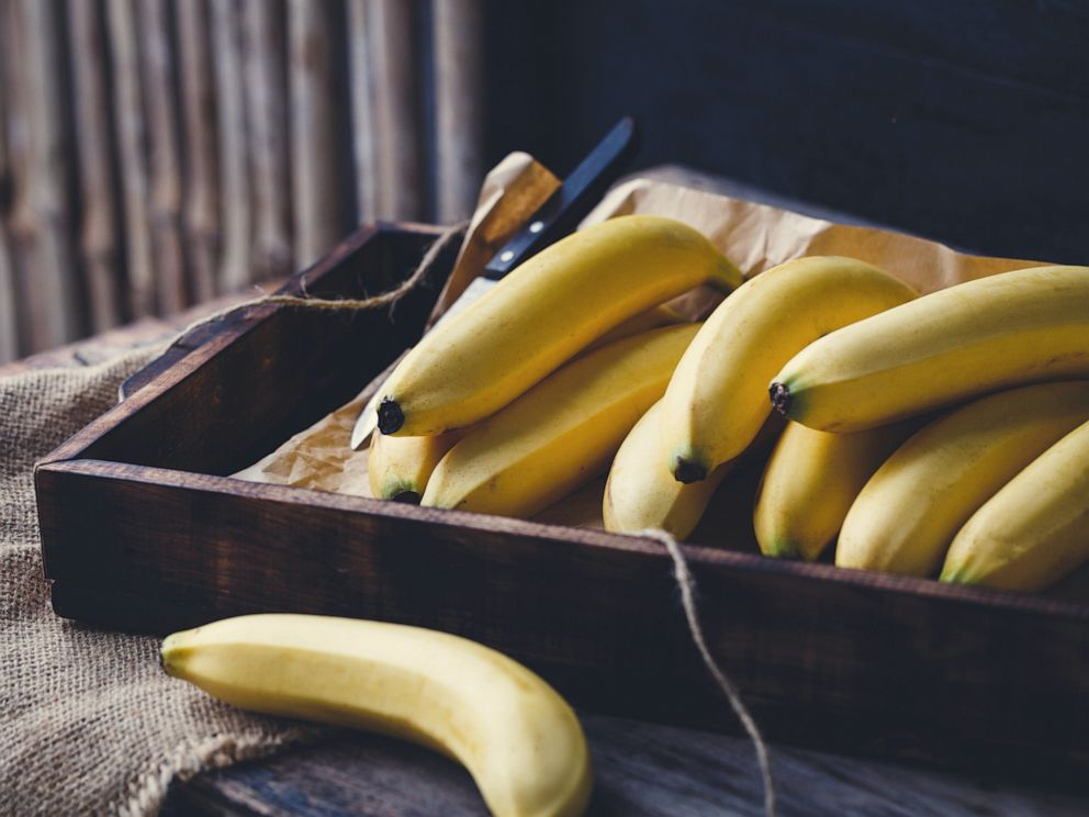 PHOTO: A handful of bananas are pictured here in this undated stock photo.