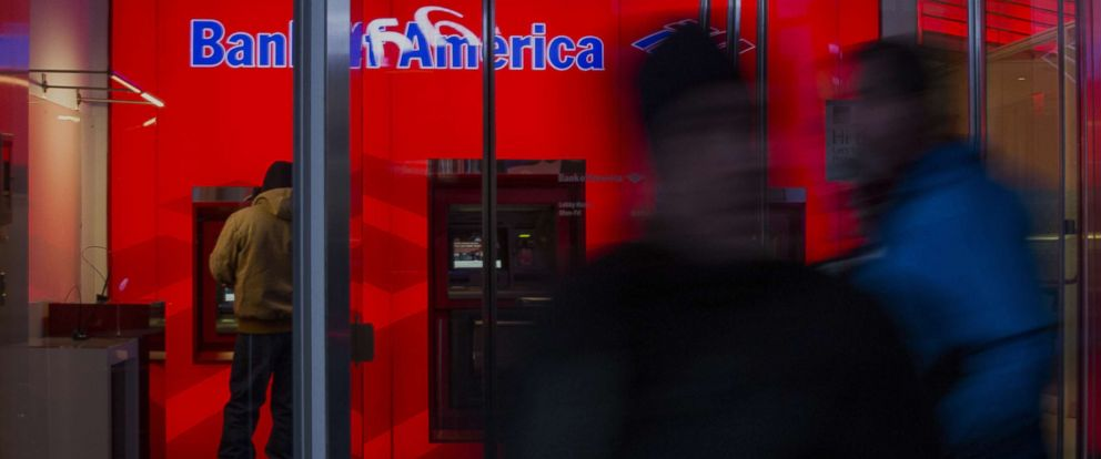 PHOTO: A customer uses an automated teller machine (ATM) inside of the Bank of America Corp. Financial Center in New York, Jan. 12, 2016.