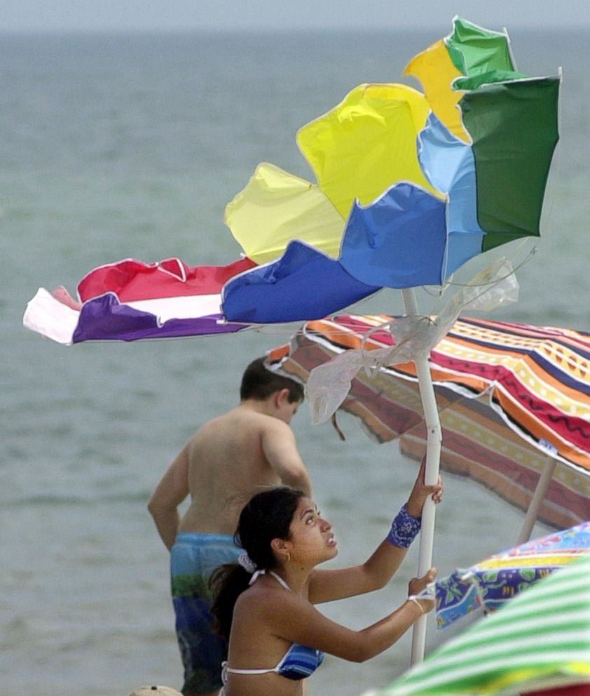 Woman impaled by beach umbrella in Ocean City