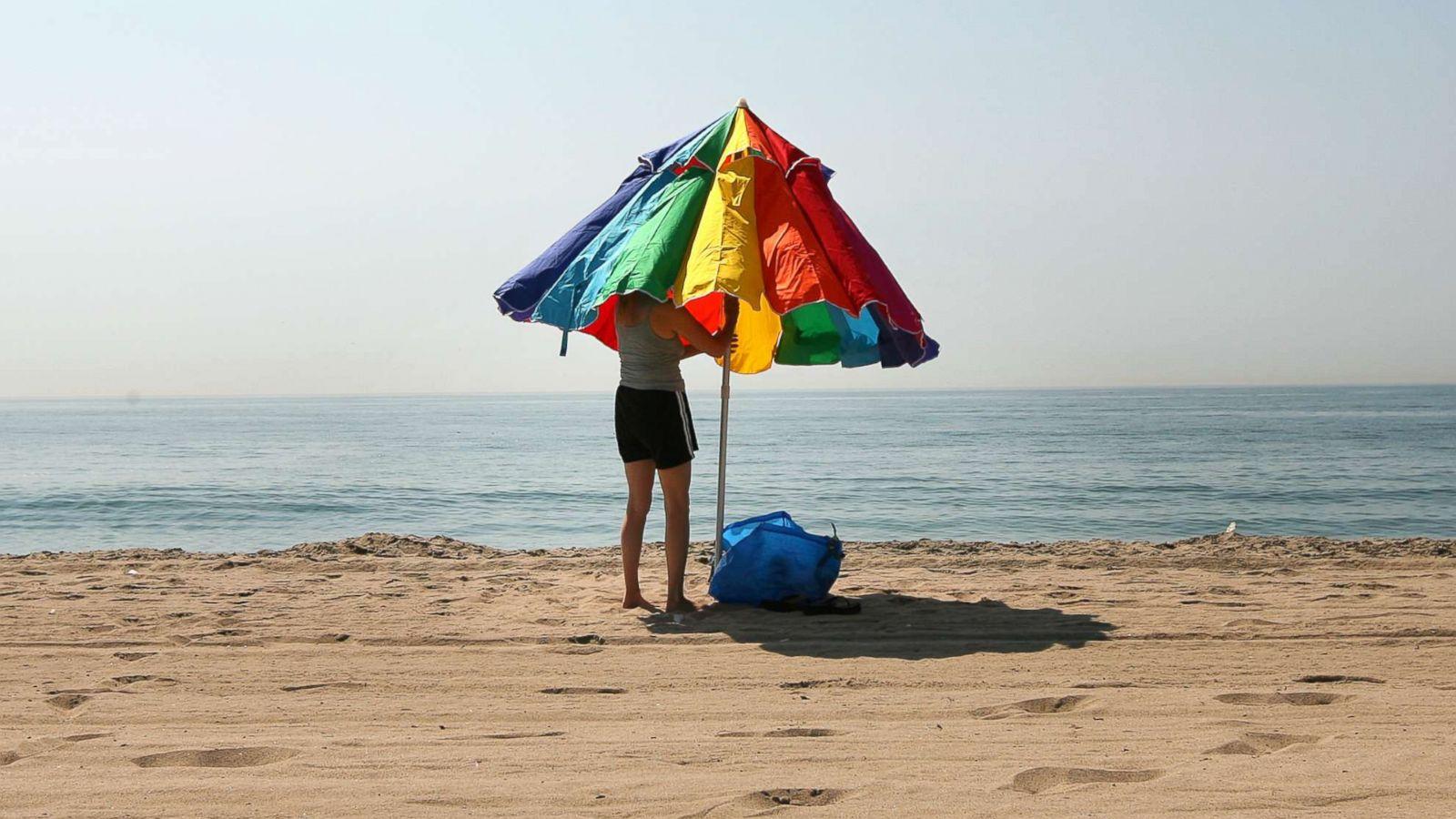 Choosing a beach umbrella