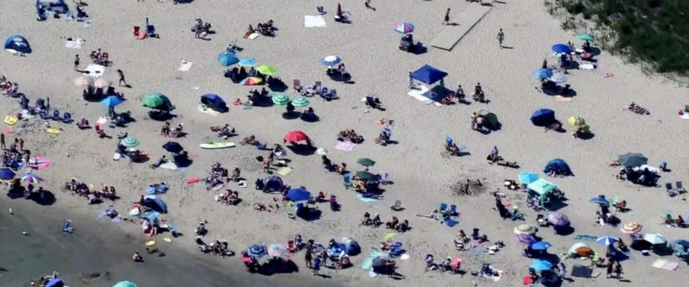 PHOTO: A beach is seen in Glouchester, Mass., in this file video grab.