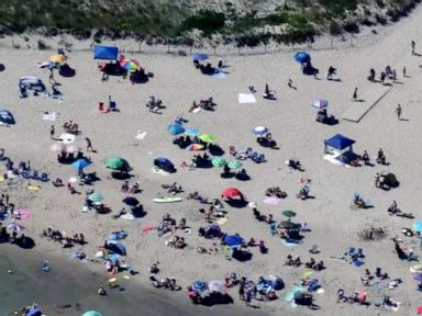 Flying umbrella impales 13-year-old at Massachusetts beach