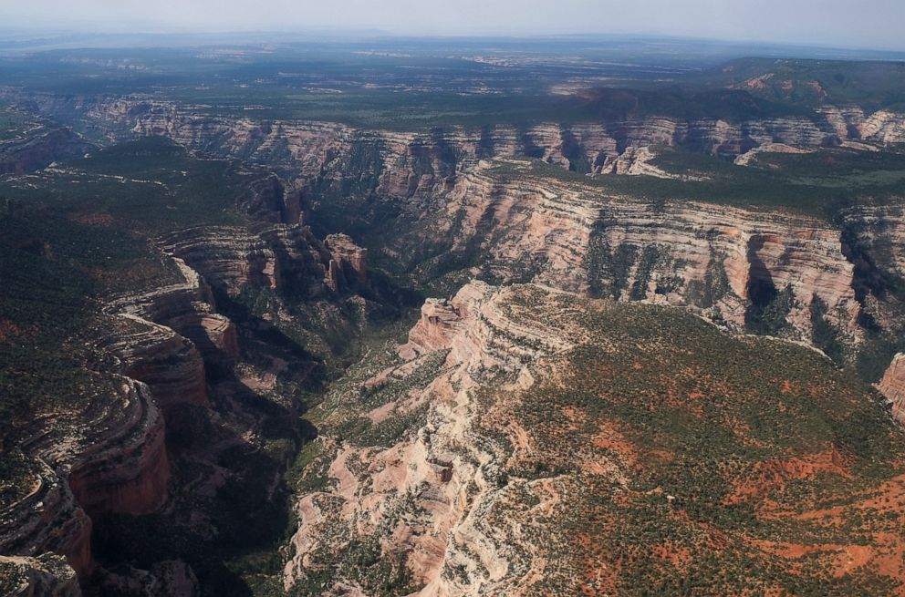 This May 8, 2017, file photo, shows Arch Canyon within Bears Ears National Monument in Utah.