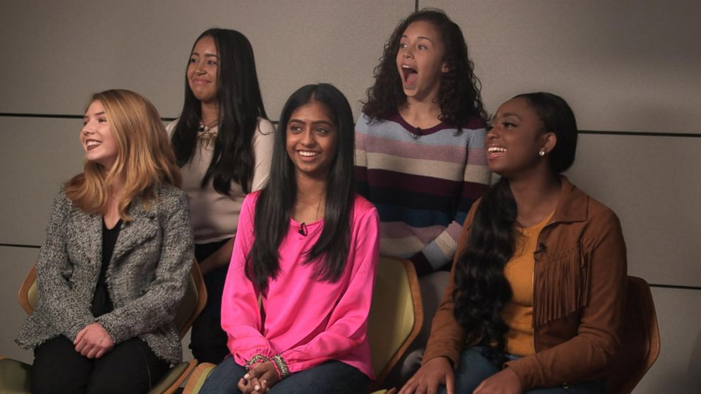 """A group of teenage girls spoke candidly about the struggles they faced, especially on social media, while their mothers listened in during a """"GMA"""" social experiment."""