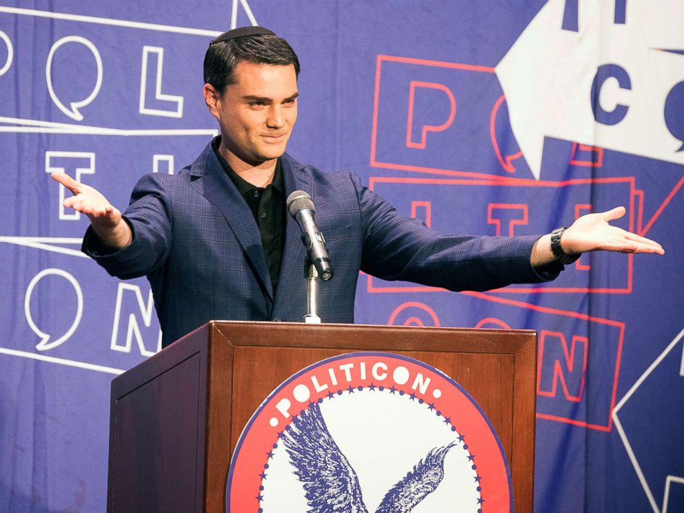 PHOTO: Ben Shapiro attends Politicon at The Pasadena Convention Center, Aug. 30, 2017, in Pasadena, Calif.