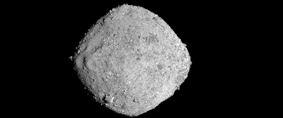 PHOTO: Bennu, seen in this Nov. 16, 2018, photo provided by NASA, is similar to another asteroid expected to pass by the Earth a little before 8 p.m. EDT on Saturday.