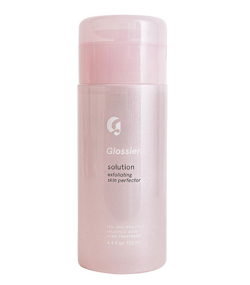 PHOTO: Glossier Solution won Yahoo Lifestyles Diversity in Beauty award for best acne-hyper-pigmentation product.