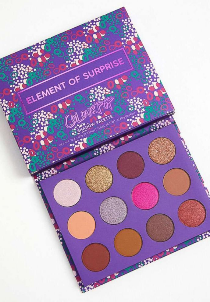 PHOTO: Colourpop Element of Surprise Pressed Powder Shadow Palette won Yahoo Lifestyles Diversity in Beauty award for best affordable makeup.
