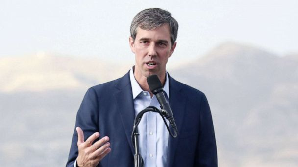 Beto O'Rourke relaunches campaign from El Paso hometown in wake of mass shooting