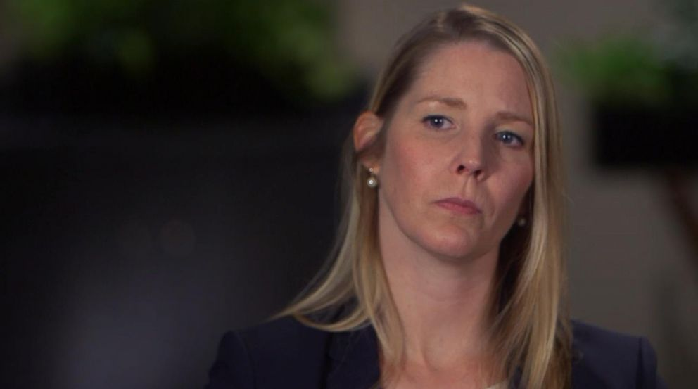 PHOTO: Betty Pina, an Alaska Airlines pilot who is suing her employer after accusing her co-pilot of rape, spoke out in an interview with ABC News.