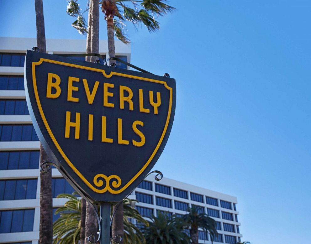 PHOTO: The Beverly Hills sign in Los Angeles is captured in this undated photo.