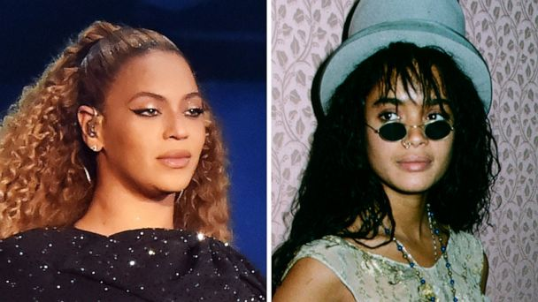 Beyoncé just shared a year's worth of epic photos, including her dressed as Lisa Bonet