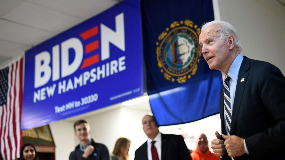 Biden holds steady, Warren slips in national poll as Iowa caucuses approach thumbnail