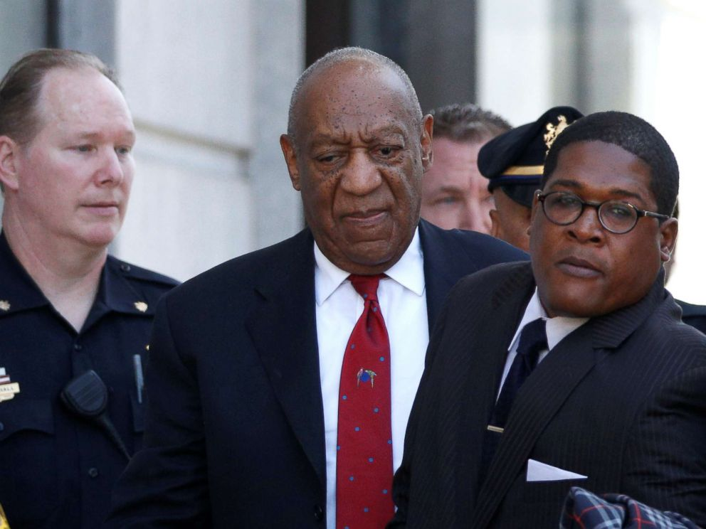 PHOTO: Actor and comedian Bill Cosby exits Montgomery County Courthouse after a jury convicted him in a sexual assault retrial in Norristown, Penn., April 26, 2018.