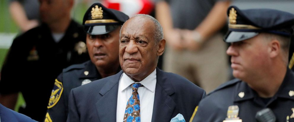 PHOTO: Bill Cosby arrives at the Montgomery County Courthouse for sentencing in his sexual assault trial in Norristown, Pa., Sept. 24, 2018.