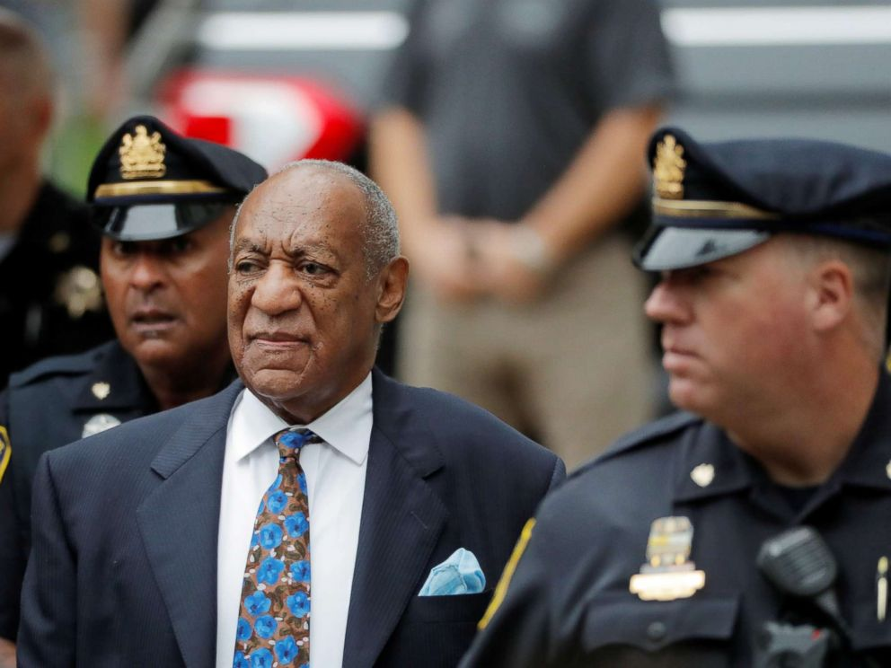 Bill Cosby's day of reckoning as he arrives in court for sentencing