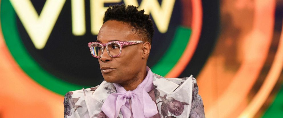 """PHOTO: Billy Porter appears on """"The View"""" to discuss the second season of his show """"Pose"""" on Friday, June 14, 2019."""