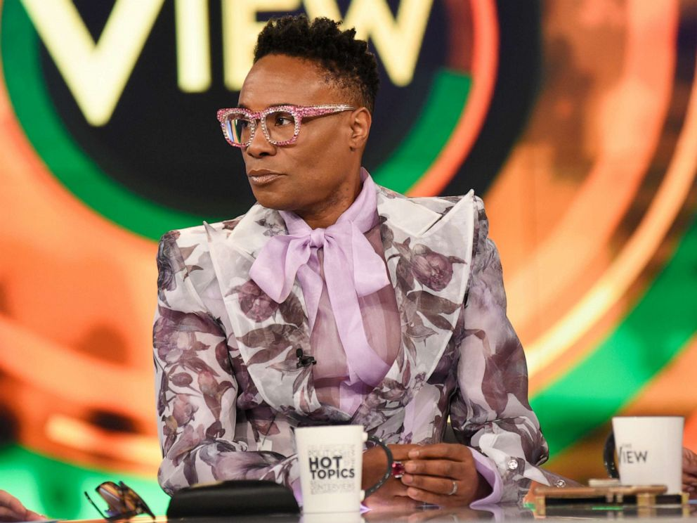 PHOTO: Billy Porter appears on The View to discuss the second season of his show Pose on Friday, June 14, 2019.