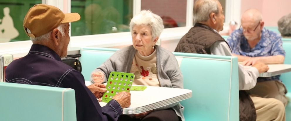 PHOTO: Senior day care center Town Square caters to people going through the early stages of dementia.