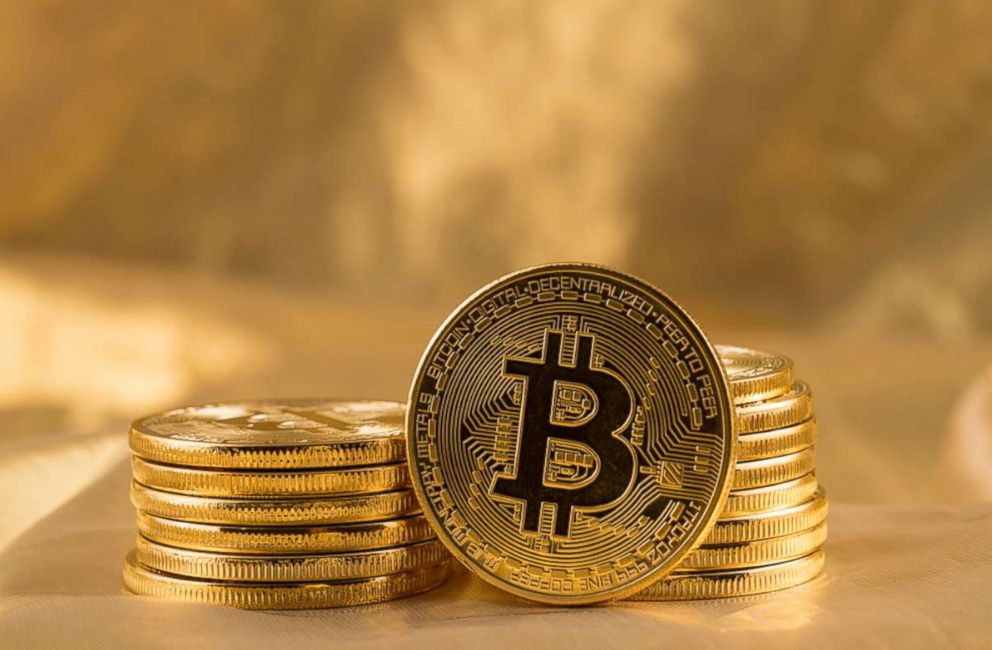 PHOTO: Bitcoins are pictured in this undated stock photo.