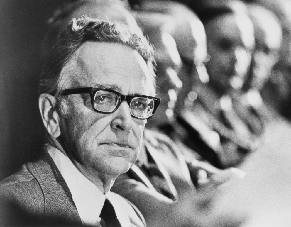 PHOTO: Associate Justice Harry Blackmun of the US Supreme Court said that the abortion decision he wrote a year ago, will be regarded as one of the worst mistakes in the courts history or one of its greatest decisions, a turning point.