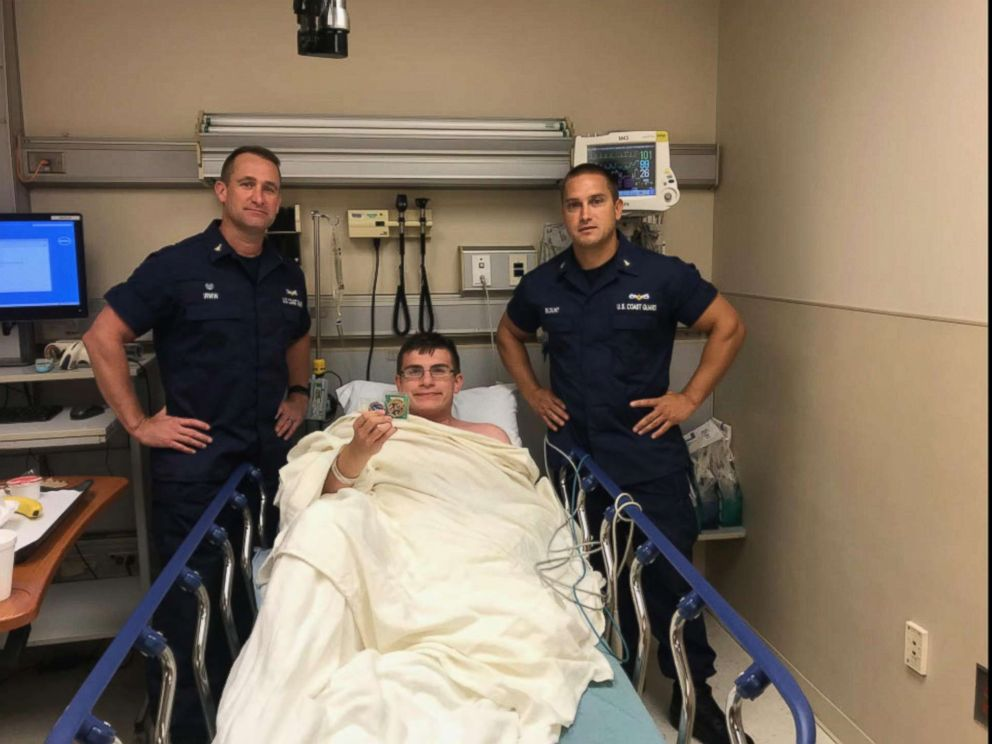 PHOTO: Blake Spataro survived treading water for nearly 10 hours before being able to swim back to shore off the coast of Georgia.