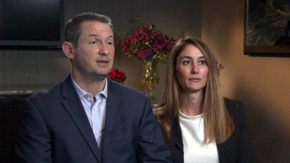 Gideon and Jeanne Bernstein, the parents of murdered teen Blaze Bernstein, speak to KABC in Orange County, Calif., Jan. 17, 2018.