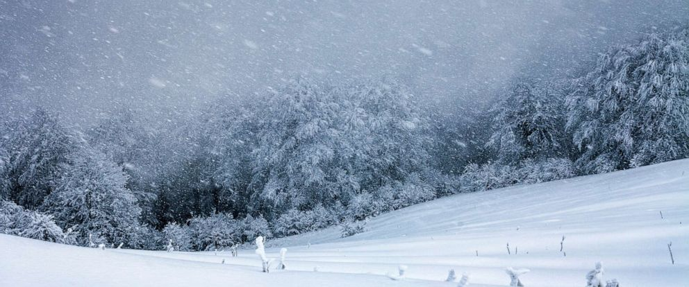 PHOTO: Extremely cold winter time in the mountain