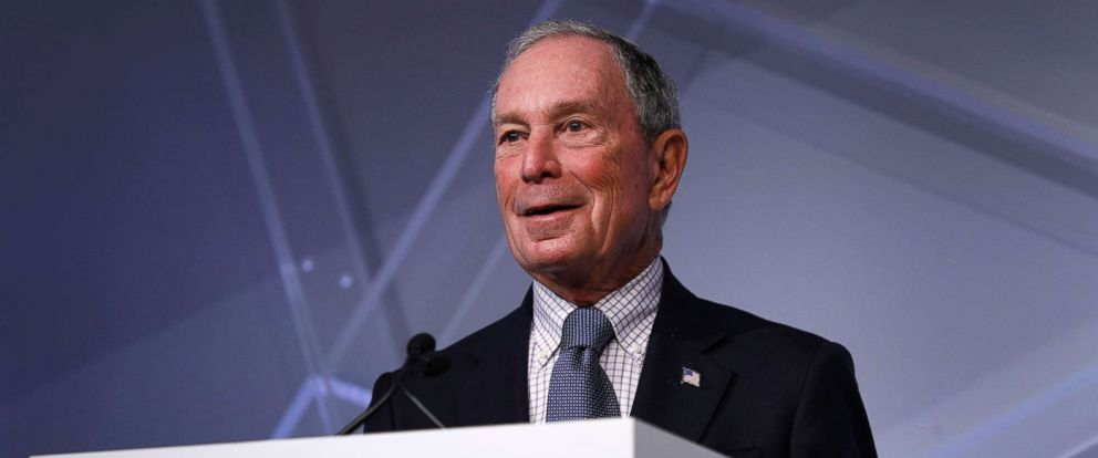 PHOTO: Michael Bloomberg speaks at CityLab Detroit, a global city summit, Oct. 29, 2018, in Detroit.