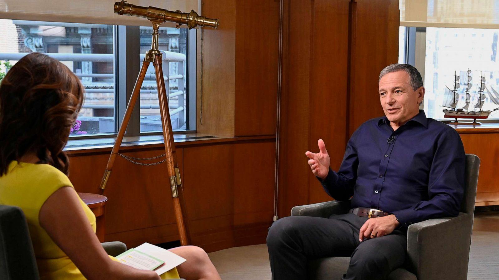 Disney Ceo Bob Iger Talks Career Highlights Retirement Ahead Of Memoir Release Abc News