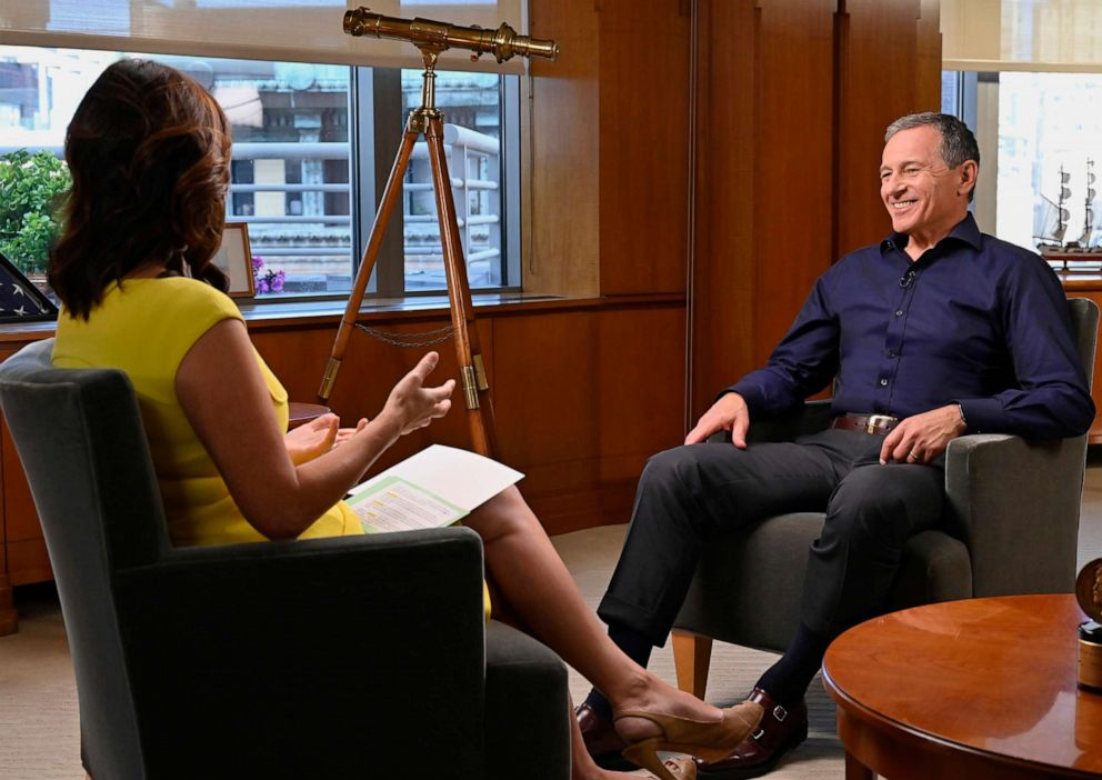 Nightline?� co-anchor Juju Chang and Chairman and CEO of The Walt Disney Company Robert Iger discuss his book The Ride of a Lifetime,?� his career at The Walt Disney Company and his personal upbringing.