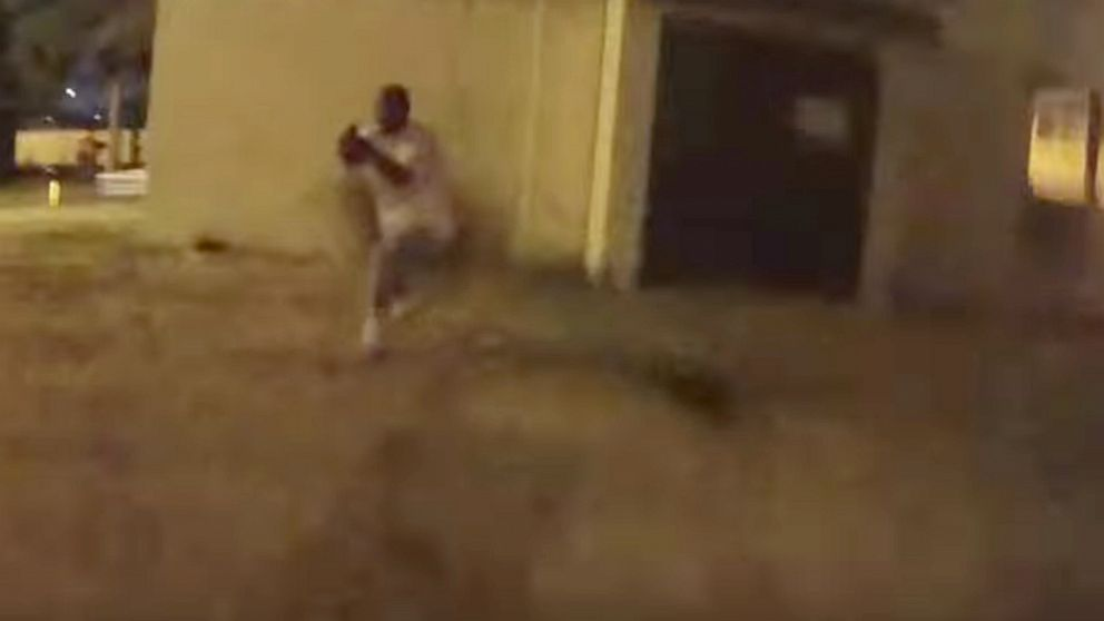 LAPD releases dramatic video of police shootout following chase