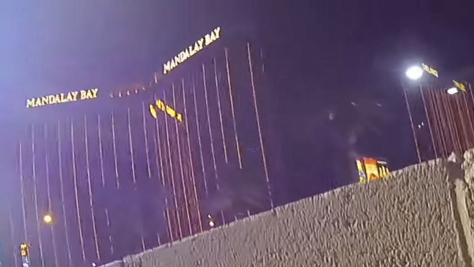 Chaos of Las Vegas massacre seen in newly released police
