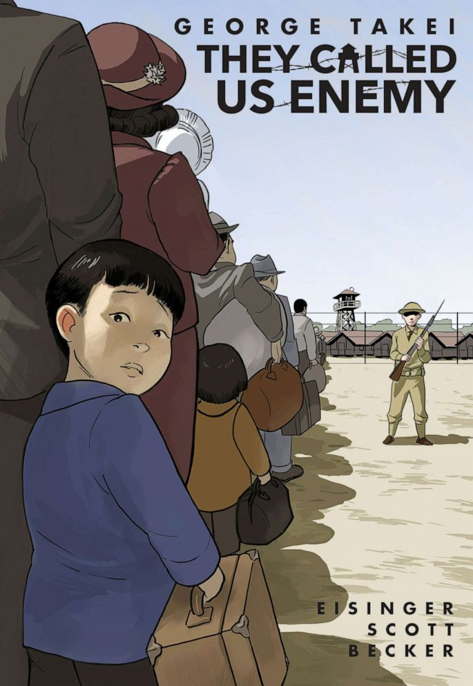 PHOTO: Book cover for George Takeis They Called Us Enemy.