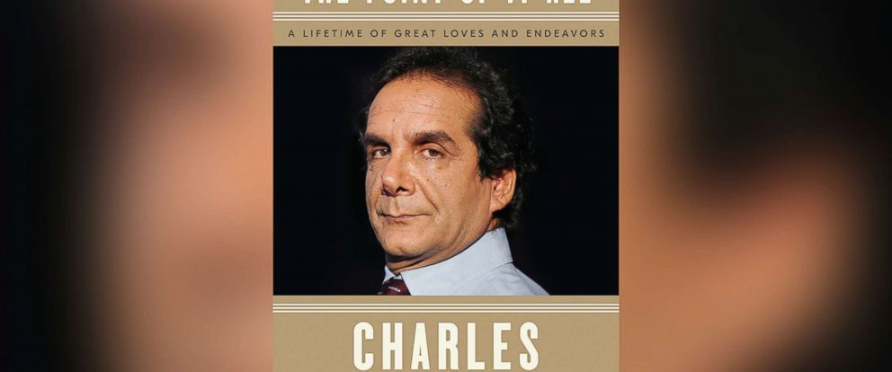 """PHOTO: Book cover for Charles Krauthammers """"The Point of It All: A Lifetime of Great Loves and Endeavors"""""""