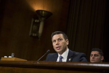 PHOTO: Commissioner of Customs and Border Protection Kevin McAleenan testifies during a Senate Judiciary Committee hearing, Dec. 11, 2018 in Washington, D.C.
