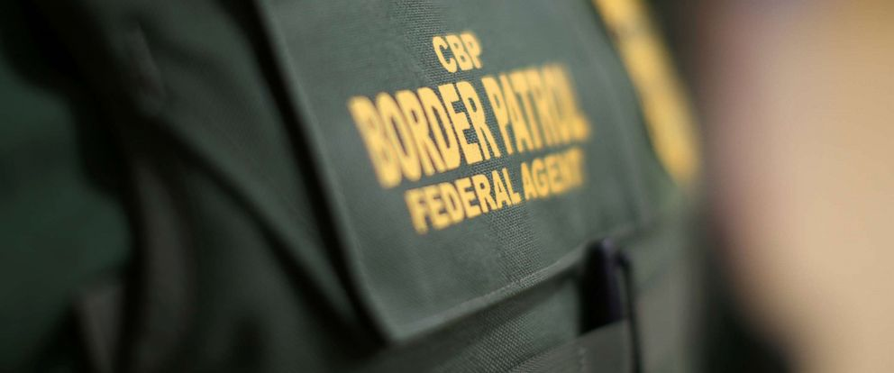 PHOTO: The bullet-proof vest of a border patrol agent is seen at the United States Border Patrol Academy in Artesia, N.M., June 8, 2017.
