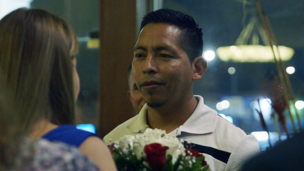 Elmer married his fiancee Delcy near the Mexico-U.S. border March 1, 2019.