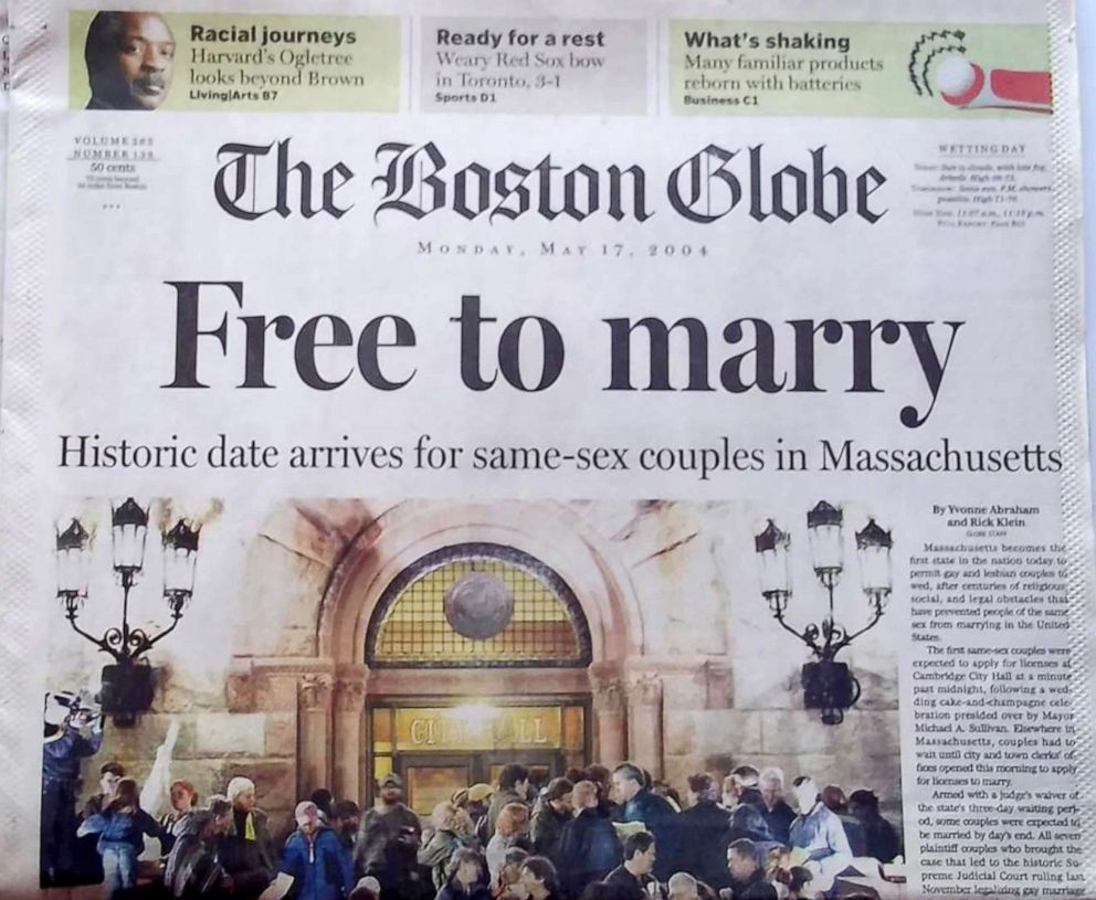 same sex marriage legal in ma in Jersey City