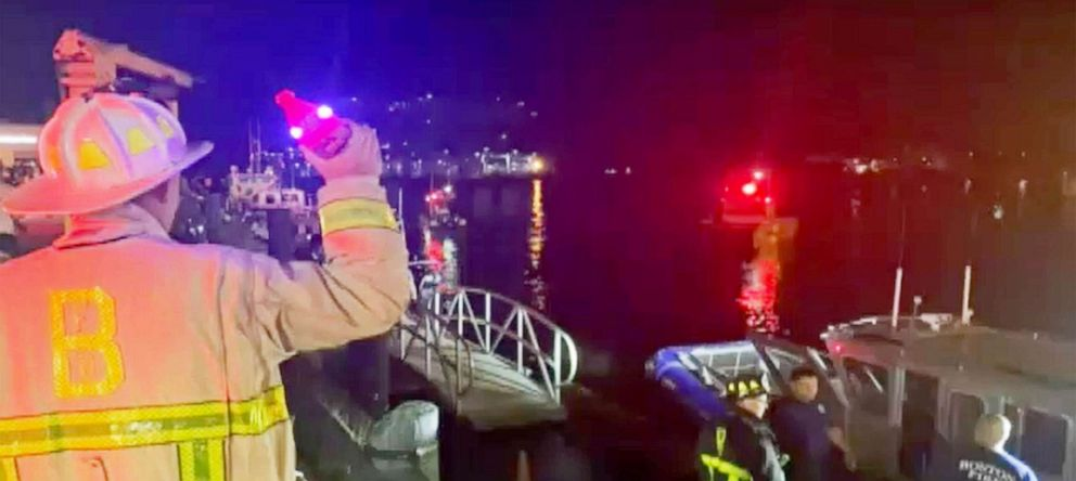 One Person Missing, Seven Rescued After Boating Accident in Boston Harbor