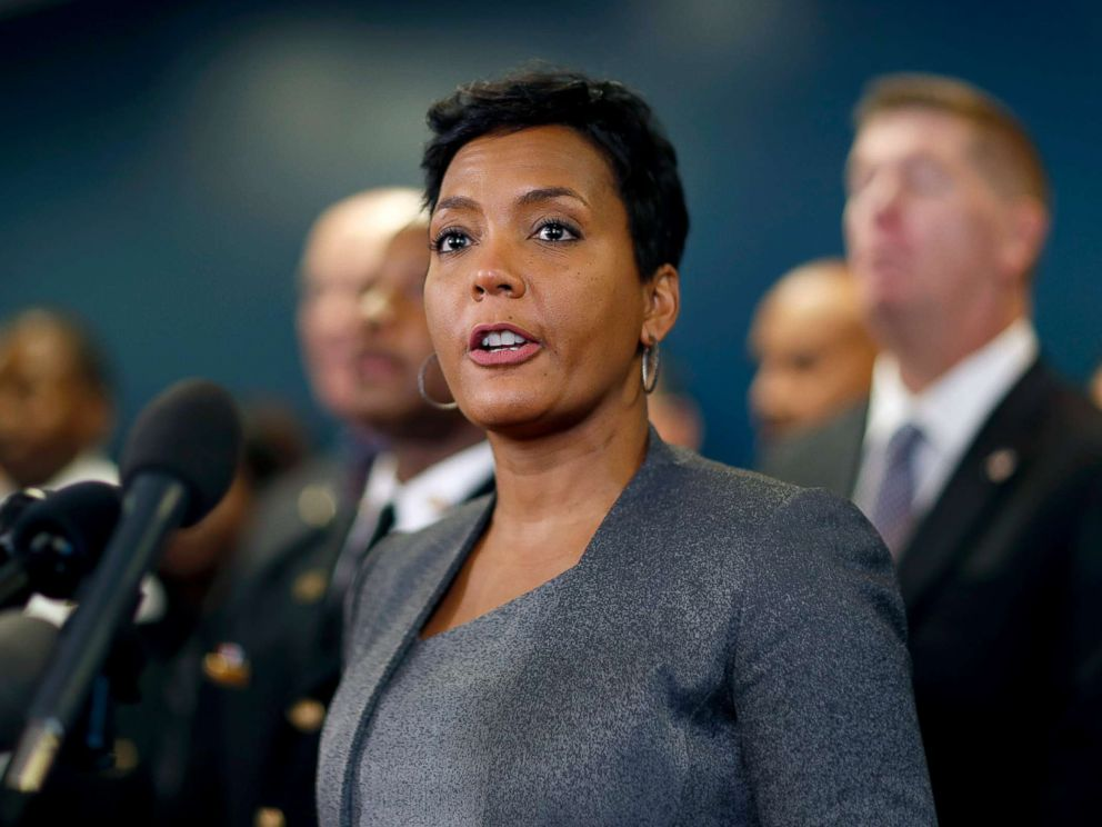 PHOTO: Atlanta Mayor Keisha Lance Bottoms speaks at a press conference in Atlanta, Jan. 4, 2018.