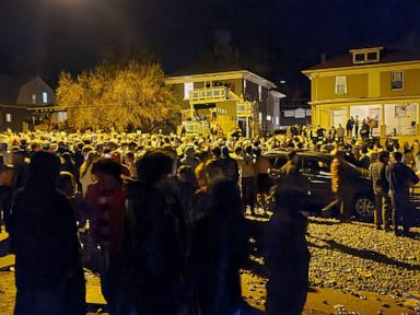 SWAT, armored vehicle used to quell wild Boulder street party that drew hundreds